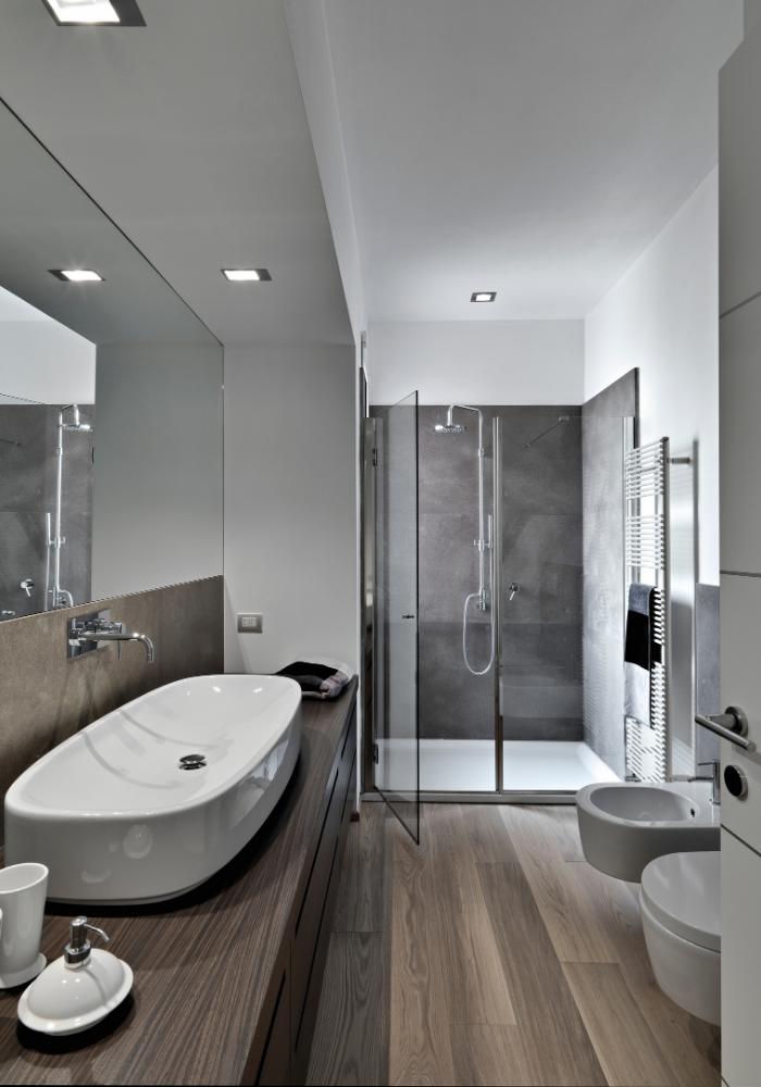 Renovering af badeværelse - få tilbyd hvor vi styrer hele entreprisen.