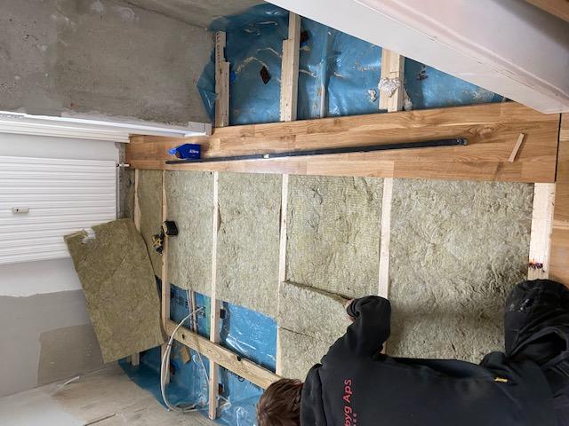 Isolering af gulv kan ses på varmeregningen.